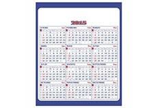 Promocional | Calendario industrial zul