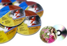 Impresión de CD