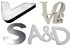 Anuncios para Exterior - Letras 3D