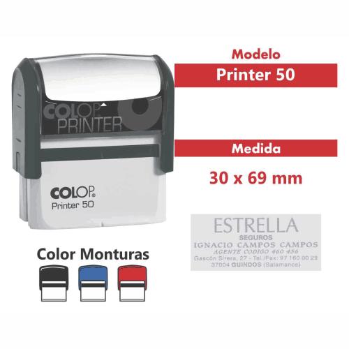 sello automatico printer 50