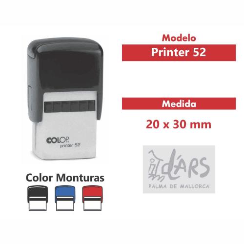 sello automatico printer 52