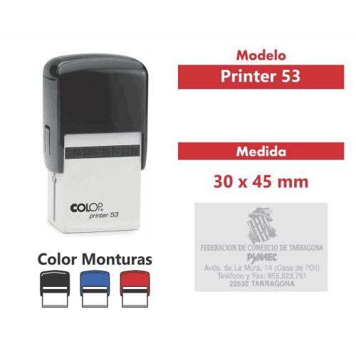 sello automático printer 53