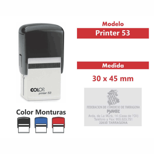 sello automatico printer 53