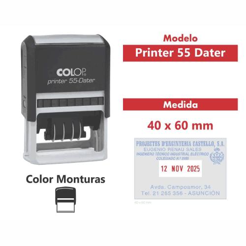 sello automatico printer 55 dater