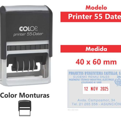 sello-automatico-printer-55-dater