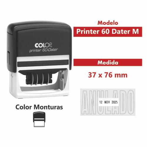 sello automatico printer 60 dater M