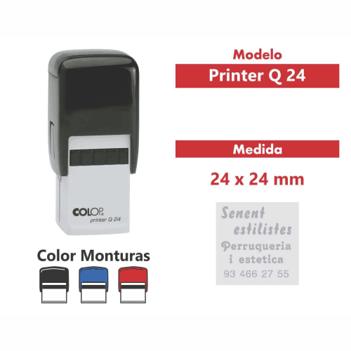sello automatico printer q 24