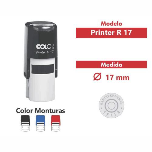 sello automatico printer r 17