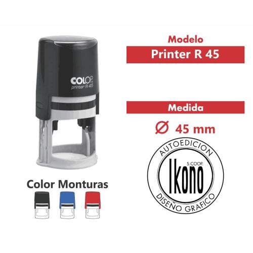 sello automatico printer r 45
