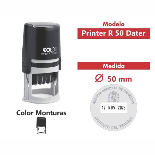 sello automático printer r 50 dater