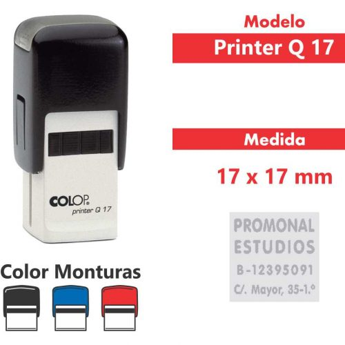 sellos-automatico-printer-q-17